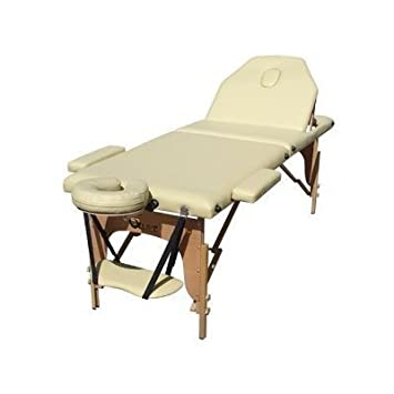 Superb Qlive Luxury Portable Massage Table   Beige Color