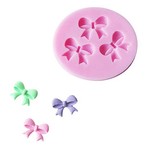 Box Gift - Bowknot Shape Silicone Mold Bakeware Set Mould Cake Fondant Decorating Sugar Candy Soap Wholesale - Making Soaps Unicorn Dropper Kids Variety Spray Octopus Airplane Jewelry Leaf Lette