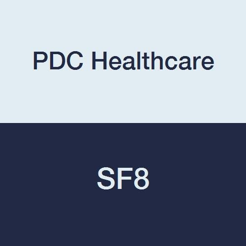 PDC Healthcare SF8 Stat Flag, Blank, Poly, 1-5/8'' x 5'', Navy Blue