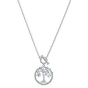 Swarovski Collier Symbolic Tree Of Life, Blanc, Métal Rhodié