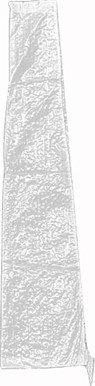 Siena Garden Schutzhülle, für Schirme Ø 180-200cm PE-Flachgewebe, transparent