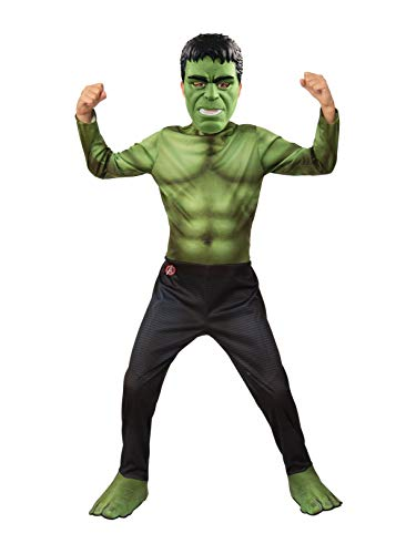 Rubie's Marvel Avengers: Endgame Hulk Children's Costume & Mask, Medium