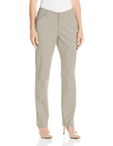 Lee Women's Midrise Fit Essential Chino Pant, Palisade, -