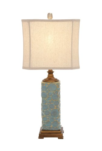 (Deco 79 97339 Polystone Table Lamp, 30