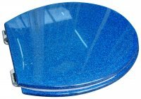 Fabulous Toilet Seat Blue Glitter Fun Funky Pdpeps Interior Chair Design Pdpepsorg