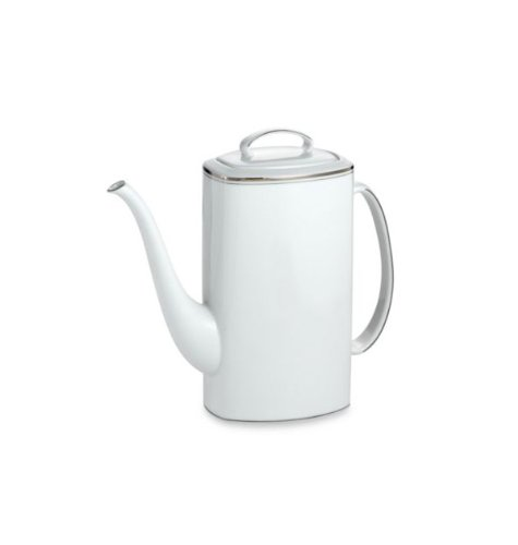 Lenox China Kate Spade Library Lane Platinum Coffeepot With Lid - China Coffee Pot