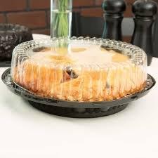 9 plastic pie containers - 6