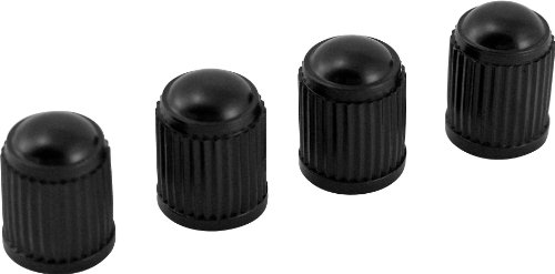 Tire Valve Caps - Victor 22-5-00709-8A Black Plastic Valve Cap