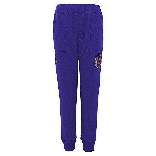 adidas Los Angeles Lakers NBA Youth Archetype Sueded Fleece Pants (X-Large (18)) ()