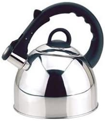 Culinary Edge 50401 Whistling Tea Kettle, 2.5-Quart, Mirror Finish