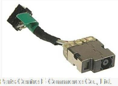 Cenos 2 pcs Original New DC Jack with cable For HP Pavilion 14-N 14-N000 14-N200 DC Power Jack connector with cable 730932