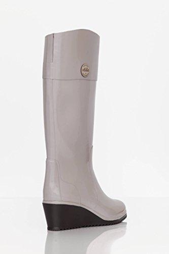Nokian Footwear Julia Lundsten - Wedge High - Botas de goma para mujer gris topo