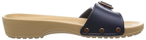 crocs Damen Sarah Sandal Women Blau (Navy/Gold)