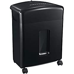 Bonsaii 12-Sheet Cross-Cut Paper, CD, and Credit Card Shredder with 3.5-Gallon Pullout Basket(C220-A)
