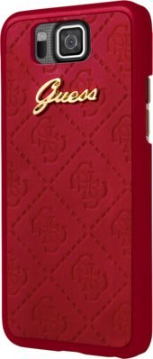 Guess Scarlett Coque pour Samsung Galaxy Alpha, Rouge