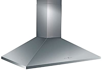 Z Line KL2-36-LED Stainless Steel Wall Mount Range Hood, 36-Inch