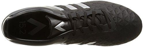 adidas Ace15.2 Terrain Herren American-Football-Schuhe Schwarz / Silber / Lima