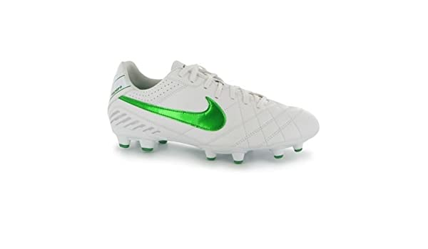 check out 0a6a1 5d8cb Amazon.com | Nike Rare Tiempo Natural IV FG White Green ...