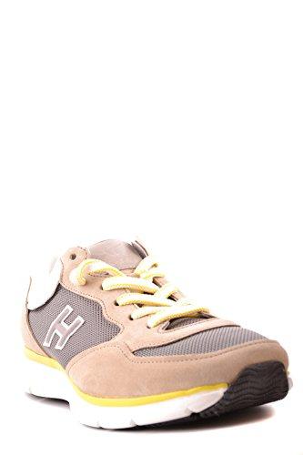 Hogan Herren Mcbi148463o Braun Stoff Sneakers
