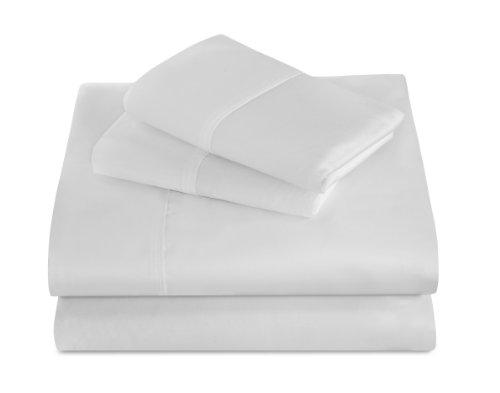 Best Night's Sleep 440 Thread Count 100-Percent Supima Cotton Sheet Sets, King, White