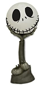 Amazon.com: Nightmare Before Christmas Jack Head in Hand Figural ...