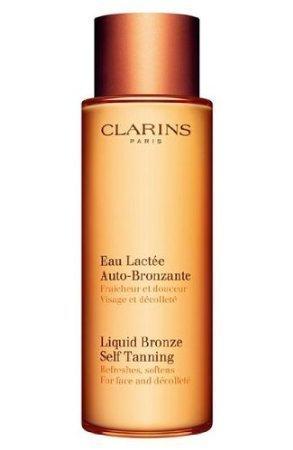 (Exclusive By Clarins Liquid Bronze Self Tanning (Face & Decollete)125ml/4.2oz)