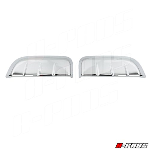 Nissan Frontier 2 Door (A-PADS Chrome Door Handle Cover for Nissan Frontier 2004-2014 | 2 Piece for Rear side doors)