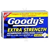 Goody's Extra Strength Fast Pain Relief, 24 Caplets by Goody's