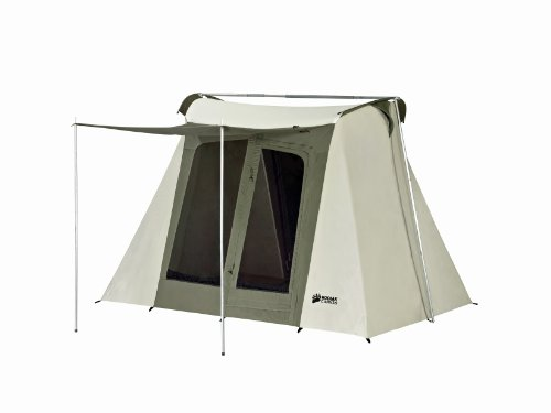 Kodiak Canvas Flex-Bow 4-Person Canvas Tent, Deluxe (Best Tent For Burning Man)