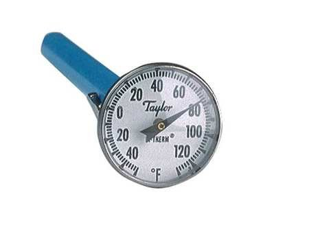 Dial Pocket Thermometer, ABS Plastic by Taylor