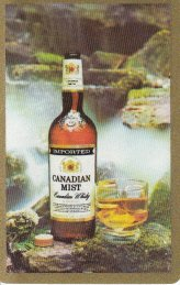A Single Swap Playing Card Canadian Mist