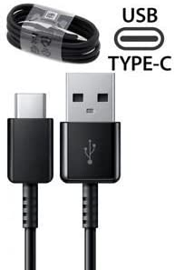 BLACK//3.3FT//1M Cable OEM Adaptive Fast Charger for LG G6 15W with certified USB Type-C Data and Charging Cable.