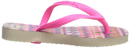 Pictures of Havaianas Kids Slim Fashion Sandal Beige/Pink 8 M US 3