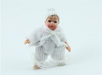 Amazon.es: Melody Jane Casa Muñecas Bebé en Traje Blanco y ...