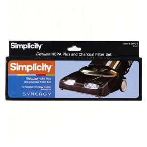 Simplicity Hepa Plus And Charcoal Filter Set for Synergy Models G9, X9 by Simplicity