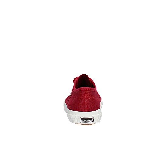 Superga 2750-JCOT CLASSIC RED DK SCARLET Bordeaux