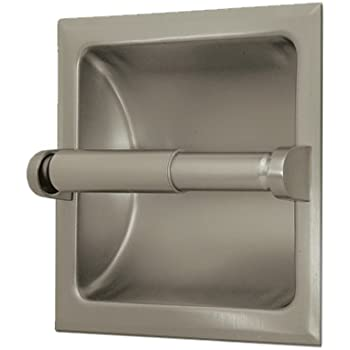 gatco recessed toilet paper holder chrome venetian bronze satin nickel home depot canada