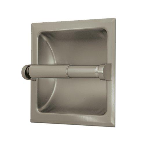Gatco 780 Recessed Toilet Paper Holder, Satin - Holder Recessed Paper Toilet Nickel