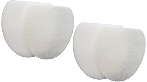 2 Shark XFF400 Rotator Professional NV400 NV401 NV402 Replacement Filter Kits, Includes 2 Foam, 2 Felt Filter by Casa Vacuums