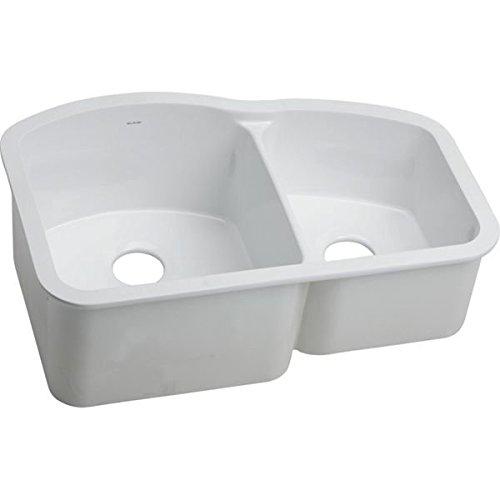Elkay SWU322010RWH Sink, 30-3 4 x 20-3 16 x 10-1 2 , White