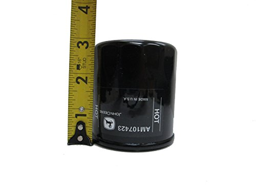 John Deere Original Equipment Oil Filter #AM107423