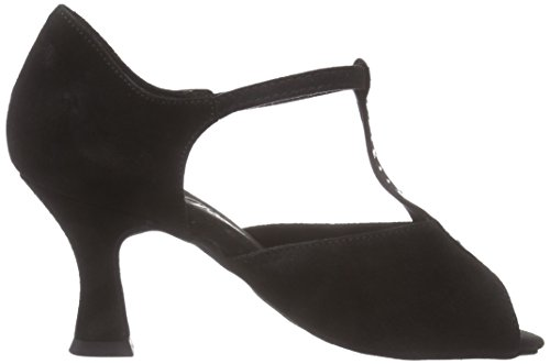 Diamant Diamant Damen Tanzschuhe 010-060-101 - Zapatillas de Baila Moderno y Jazz Mujer Negro (Negro)