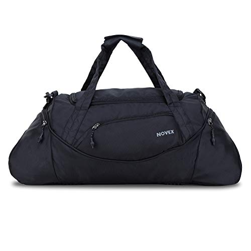 Novex Lite Black Travel Duffle Bag