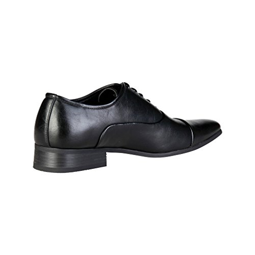 Pierre Oxford Lacets Homme Cardin À Cuir Chaussures M9001 qHw8xrZq