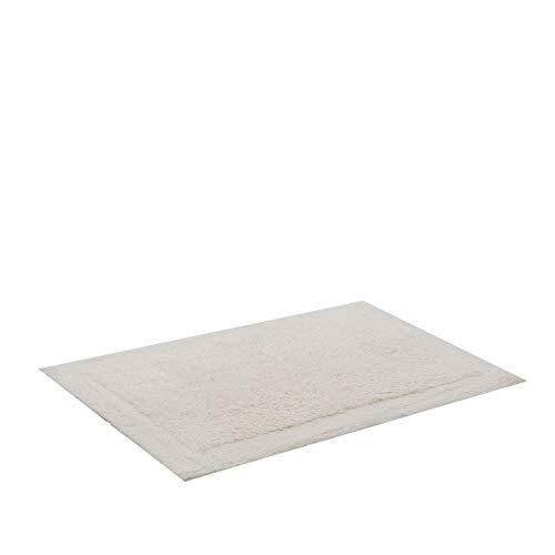Tapete para Casa com Base Antiderrapante, Buddemeyer, Allure, Branco, 100% Algodão, 48 x 80 cm