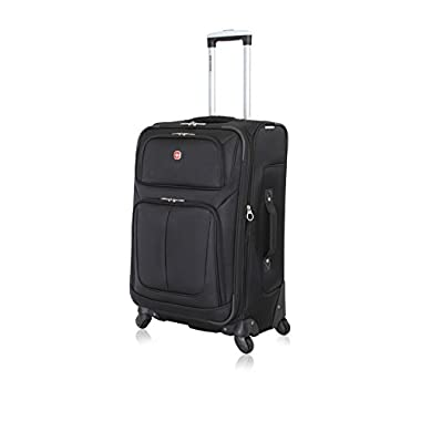 SwissGear Travel Gear 25  Spinner 4171 (Black)