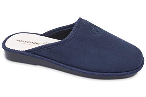 Uomo Pantofole Blu Ciabatte Valleverde 37801 7xwZg7f