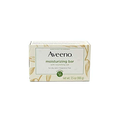 - AVEENO Naturals Moisturizing Bar for Dry Skin 3.50 oz (Pack of 12)