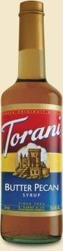 Torani Butter Pecan Syrup, 750 mL