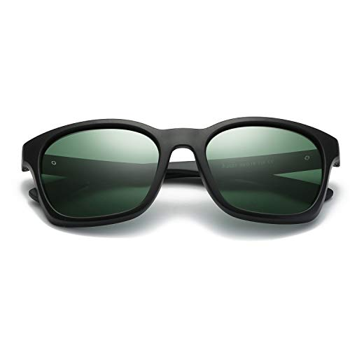 para de Clarity para UV400 Sun Exteriores Lentes Sol Hombres Green Color Green polarizadas de Gafas Glasses protección WEATLY HfwqIgx